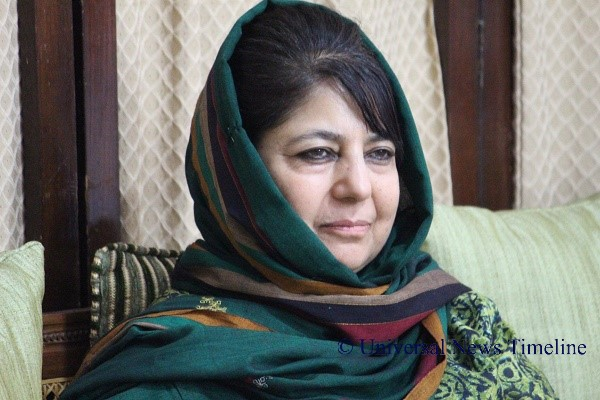 Manan Wani was a victim of relentless violence in Kashmir: Mehbooba Mufti